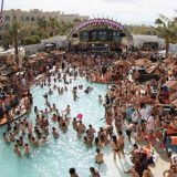 DAYLIGHT Beach Club Las Vegas at Mandalay Bay Swimming Pool With People