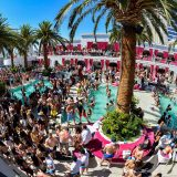 Drai's BeachClub Pool Full of People