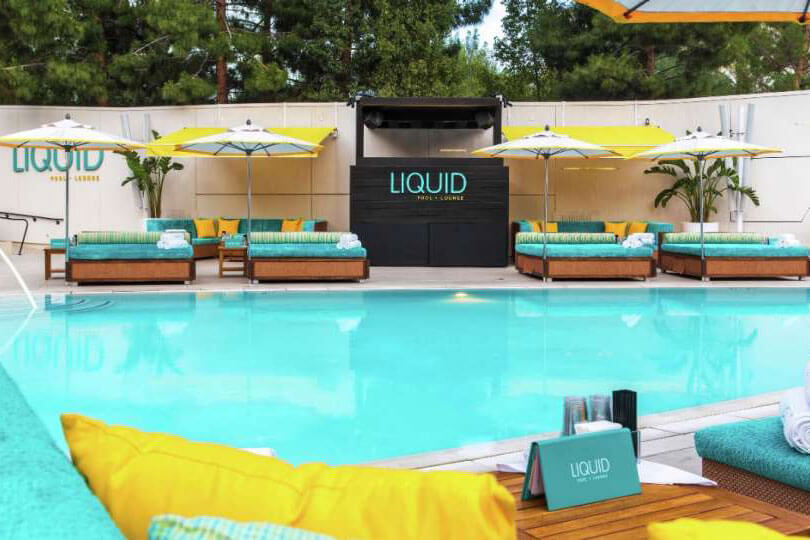 LIQUID Pool Lounge Las Vegas Pool