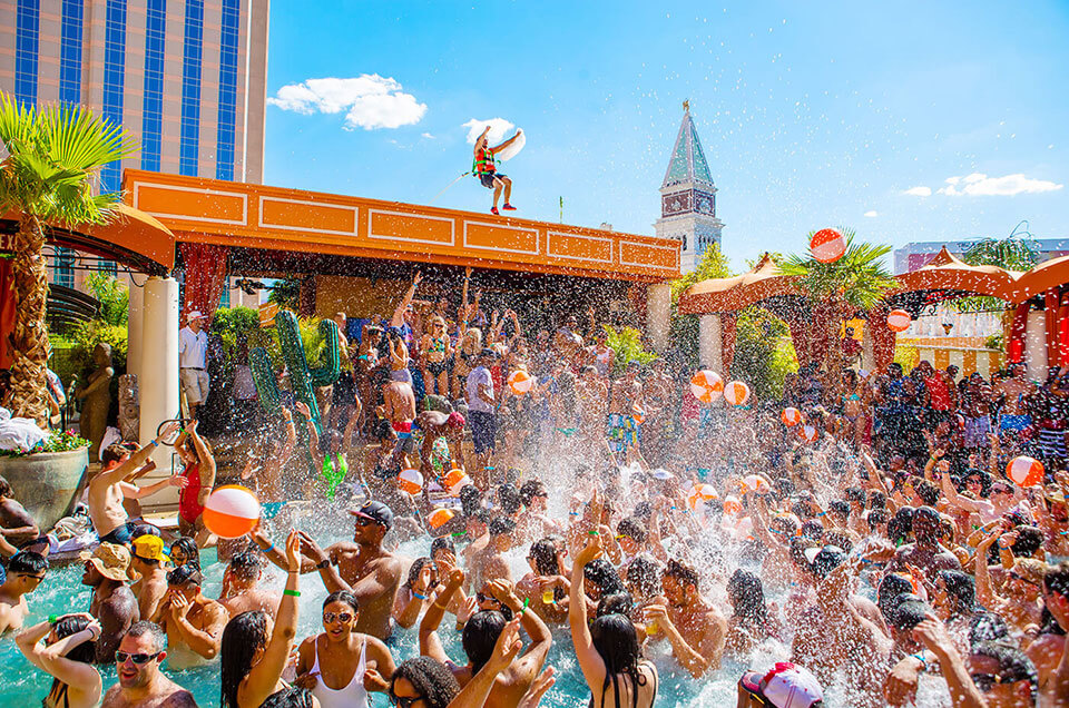 TAO Beach Las Vegas Pool Party