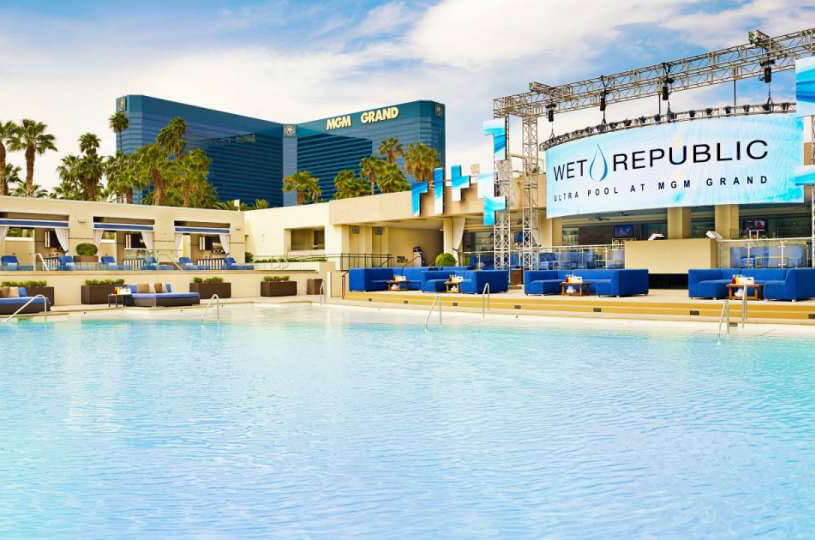 Wet Republic Ultra Pool Las Vegas
