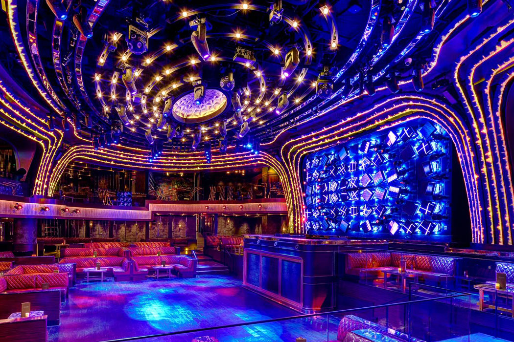 JEWEL Nightclub Las Vegas Dance Floor Empty