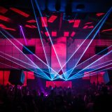 LIGHT Nightclub Las Vegas Dance Floor with Lasers