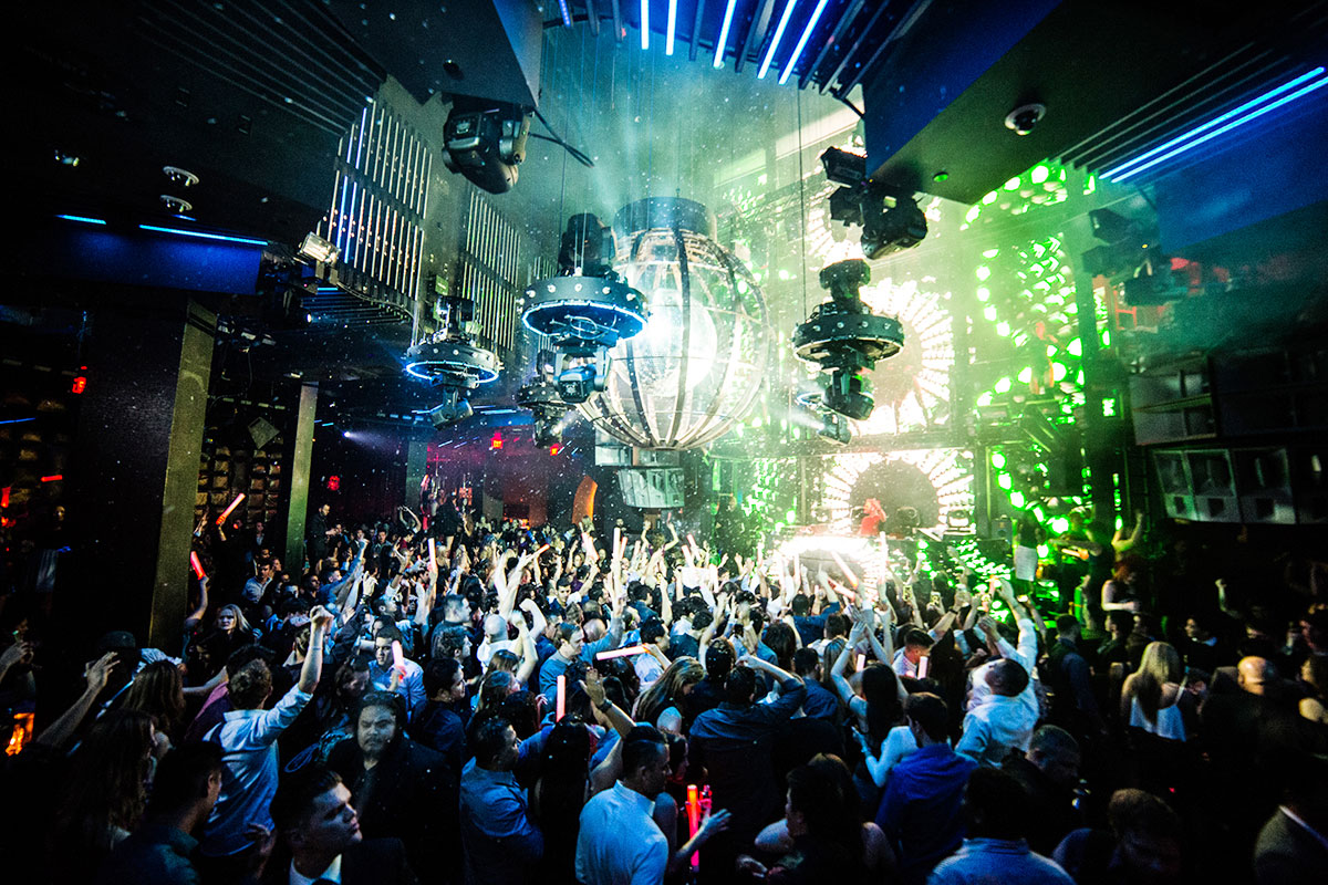 Marquee Nightclub Las Vegas People Dancing