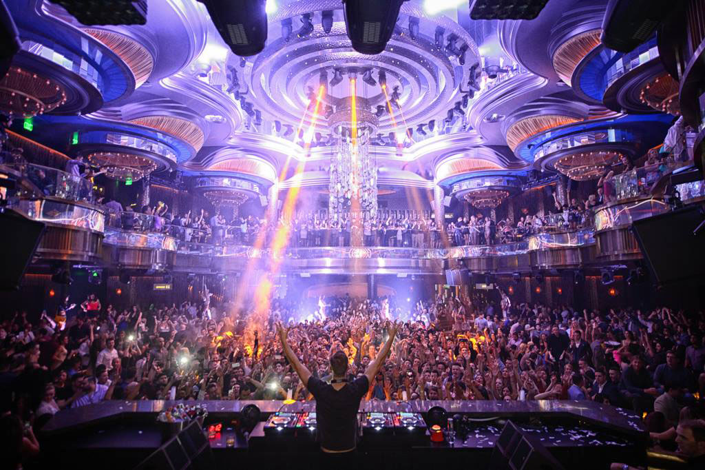 Omnia Nightclub Las Vegas Dance Floor