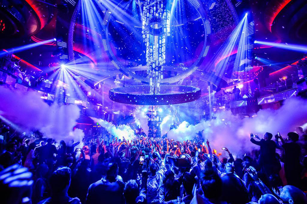 Omnia Nightclub Las Vegas Dance Floor People Dancing