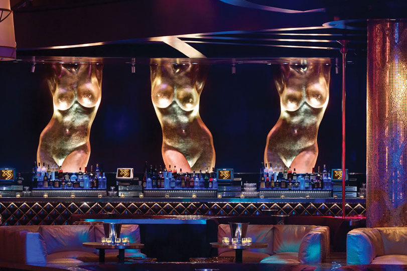 XS Nightclub Las Vegas Seating Area