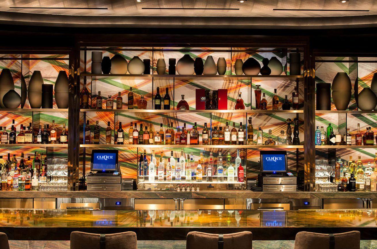 Clique Bar & Lounge Las Vegas Bar
