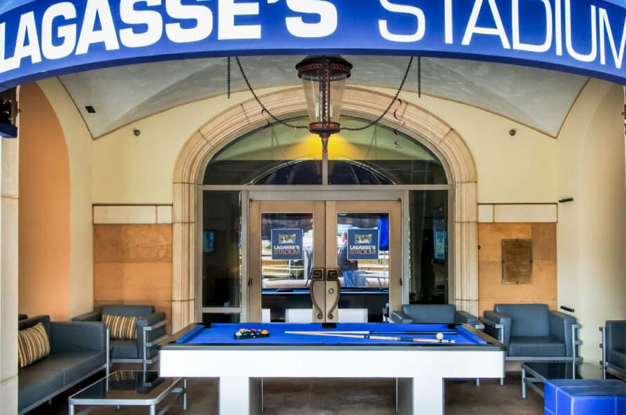 Lagasse's Stadium Las Vegas Pool Table