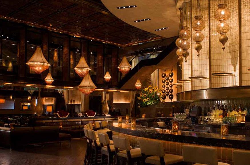 Lavo Italian Restaurant Las Vegas Dining Area
