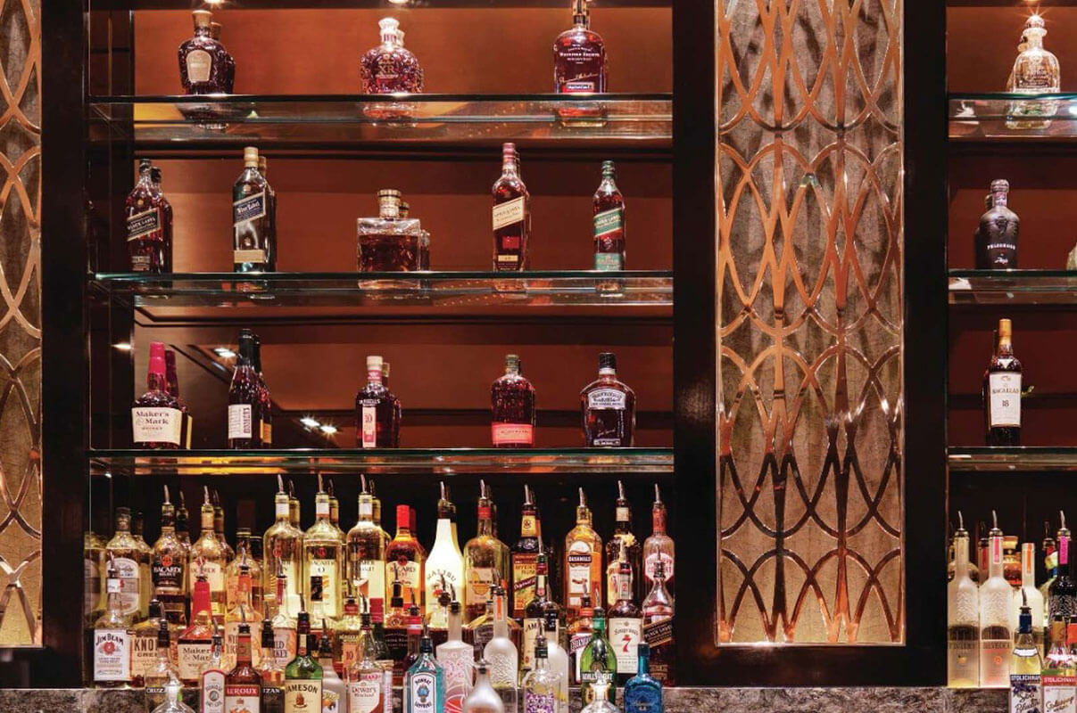 Lily Bar and Lounge Las Vegas Bar Selection