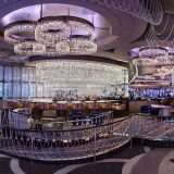 The Chandelier Las Vegas Inside Shot of Empty Lounge