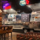 The Still Las Vegas Dining Area with Airstream